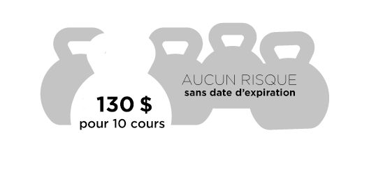 $100 - 10 cours